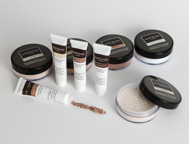 Keromask Camouflage Makeup | Foundation to cover vitiligo | Rosacea | Scars